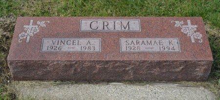 BAKER CRIM, SARAMAE K. - Hamilton County, Iowa | SARAMAE K. BAKER CRIM