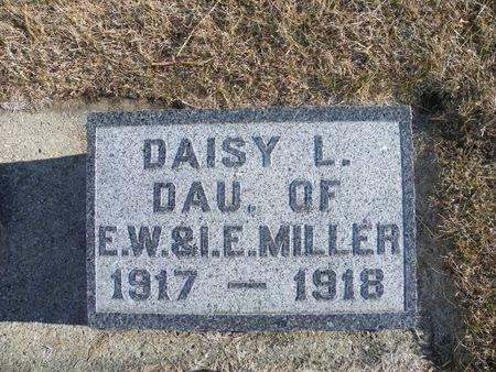 MILLER , DAISY L - Hamilton County, Iowa   DAISY L MILLER