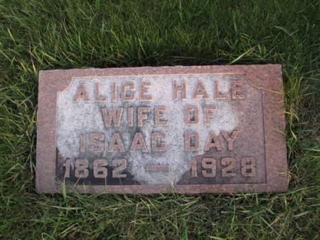 DAY, ALICE - Hamilton County, Iowa   ALICE DAY