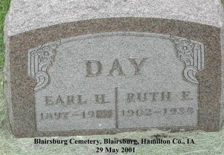 DAY, RUTH E. - Hamilton County, Iowa | RUTH E. DAY