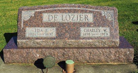 DE LOZIER, IDA S. - Hamilton County, Iowa | IDA S. DE LOZIER