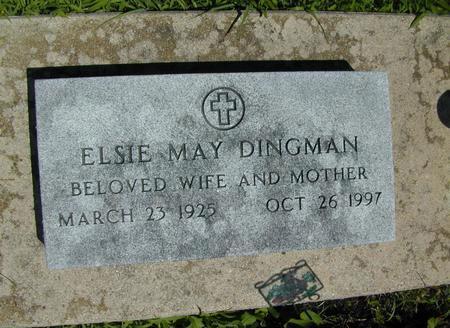DINGMAN, ELSIE MAY - Hamilton County, Iowa | ELSIE MAY DINGMAN