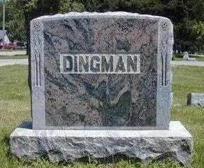 DINGMAN, FAMILY STONE - Hamilton County, Iowa | FAMILY STONE DINGMAN