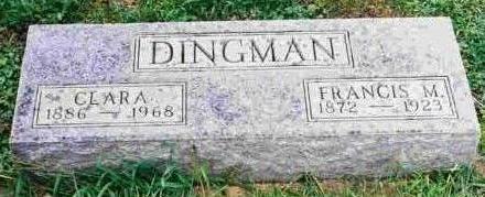 DINGMAN, FRANCIS MARION - Hamilton County, Iowa | FRANCIS MARION DINGMAN