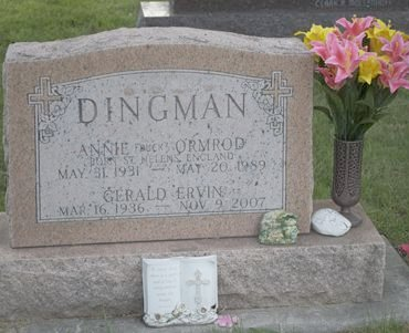 ORMROD DINGMAN, ANNIE - Hamilton County, Iowa | ANNIE ORMROD DINGMAN