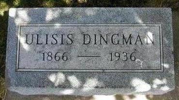 DINGMAN, ULYSSES S. - Hamilton County, Iowa   ULYSSES S. DINGMAN