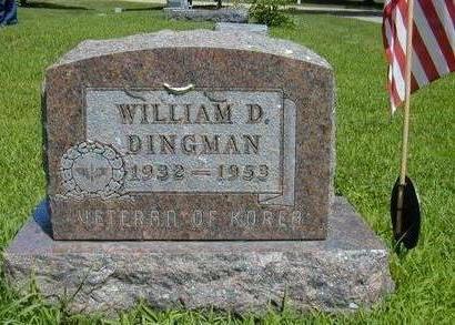 DINGMAN, WILLIAM DALE - Hamilton County, Iowa | WILLIAM DALE DINGMAN
