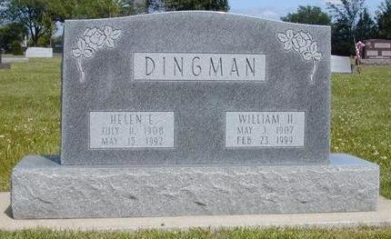 DINGMAN, HELEN ELIZABETH - Hamilton County, Iowa | HELEN ELIZABETH DINGMAN