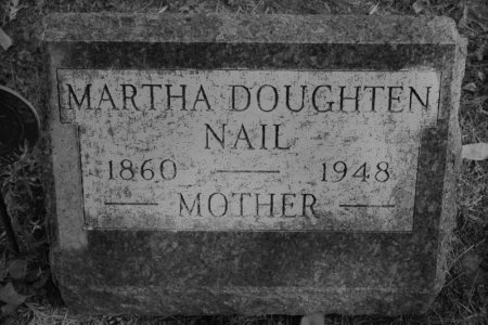 NAIL, MARTHA DOUGHTEN - Hamilton County, Iowa   MARTHA DOUGHTEN NAIL