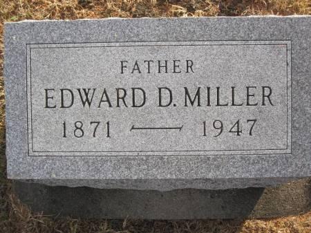 MILLER , EDWARD D - Hamilton County, Iowa | EDWARD D MILLER