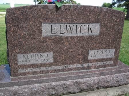 ELWICK, CYRUS J. - Hamilton County, Iowa | CYRUS J. ELWICK