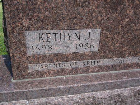 ELWICK, KETHYN J. - Hamilton County, Iowa   KETHYN J. ELWICK