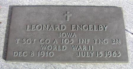 ENGELBY, LEONARD - Hamilton County, Iowa | LEONARD ENGELBY