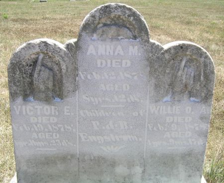 ENGSTROM, WILLIE O. A. - Hamilton County, Iowa   WILLIE O. A. ENGSTROM