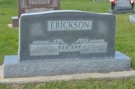 ERICKSON, ALFRED. - Hamilton County, Iowa   ALFRED. ERICKSON