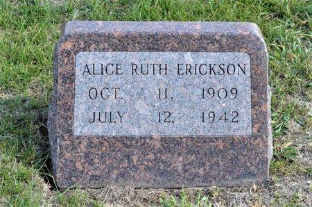 ERICKSON, ALICE RUTH - Hamilton County, Iowa | ALICE RUTH ERICKSON
