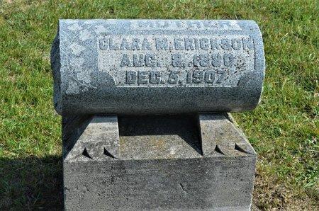 ERICKSON, CLARA M. - Hamilton County, Iowa   CLARA M. ERICKSON