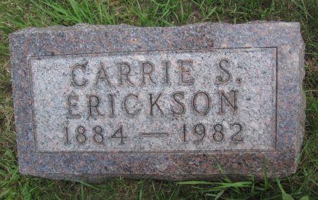 ERICKSON, CARRIE S. - Hamilton County, Iowa   CARRIE S. ERICKSON