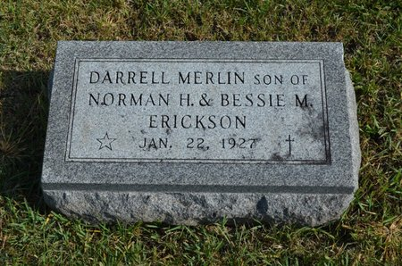 ERICKSON, DARRELL MERLIN - Hamilton County, Iowa | DARRELL MERLIN ERICKSON