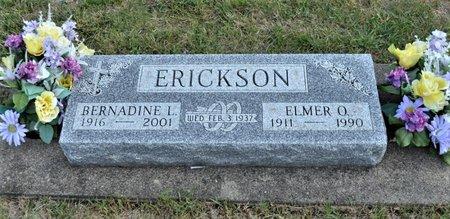 ERICKSON, BERNADINE L. - Hamilton County, Iowa   BERNADINE L. ERICKSON