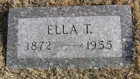 ERICKSON, ELLA T. - Hamilton County, Iowa | ELLA T. ERICKSON