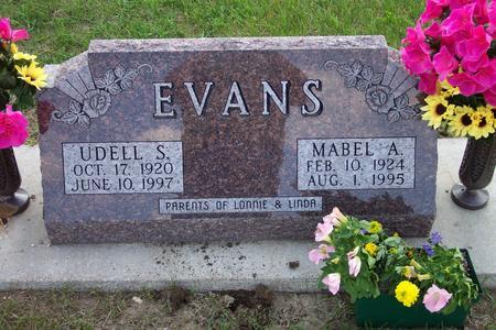 EVANS, MABEL - Hamilton County, Iowa | MABEL EVANS