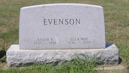EVENSON, KEITH R. - Hamilton County, Iowa   KEITH R. EVENSON