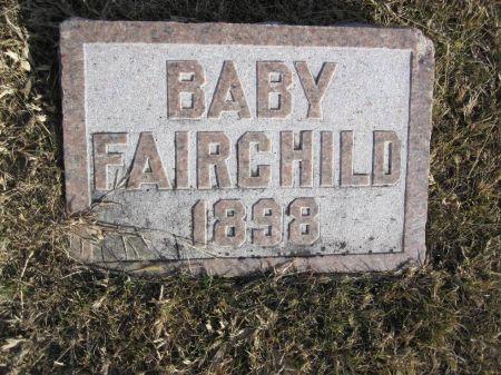 FAIRCHILD, BABY1898 - Hamilton County, Iowa   BABY1898 FAIRCHILD