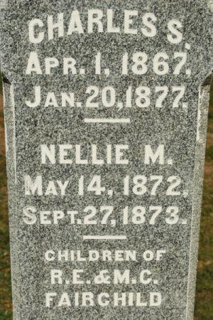 FAIRCHILD, NELLIE M. - Hamilton County, Iowa | NELLIE M. FAIRCHILD