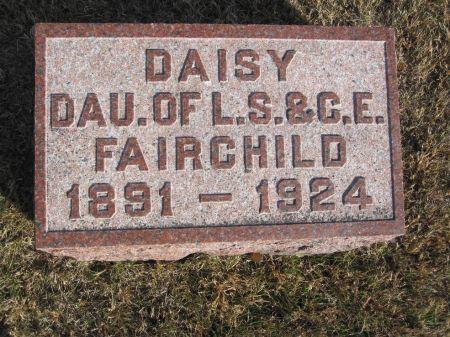 FAIRCHILD, DAISY - Hamilton County, Iowa | DAISY FAIRCHILD