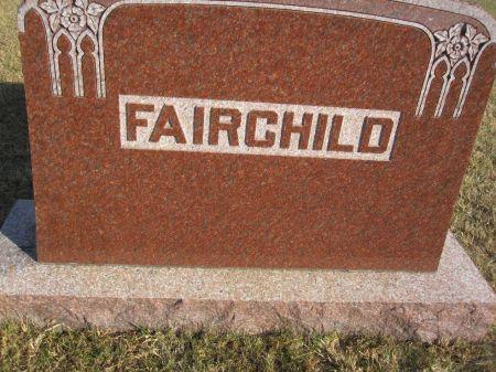 FAIRCHILD, FAMILY STONE - Hamilton County, Iowa | FAMILY STONE FAIRCHILD