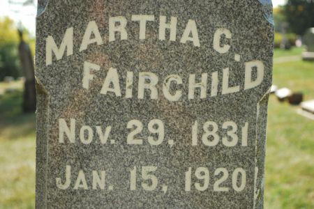 FAIRCHILD, MARTHA C. - Hamilton County, Iowa | MARTHA C. FAIRCHILD