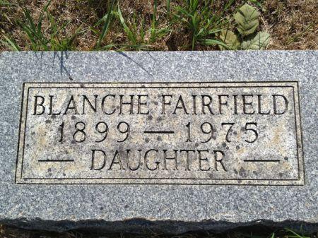 FAIRFIELD, BLANCHE - Hamilton County, Iowa | BLANCHE FAIRFIELD