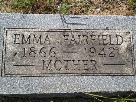 FAIRFIELD, EMMA - Hamilton County, Iowa | EMMA FAIRFIELD