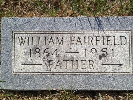 FAIRFIELD, WILLIAM - Hamilton County, Iowa | WILLIAM FAIRFIELD