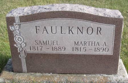 FAULKNOR, MARTHA A. - Hamilton County, Iowa | MARTHA A. FAULKNOR