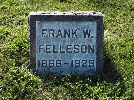 FELLESON, FRANK W. - Hamilton County, Iowa   FRANK W. FELLESON