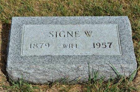 FERLEN, SIGNE W. - Hamilton County, Iowa | SIGNE W. FERLEN