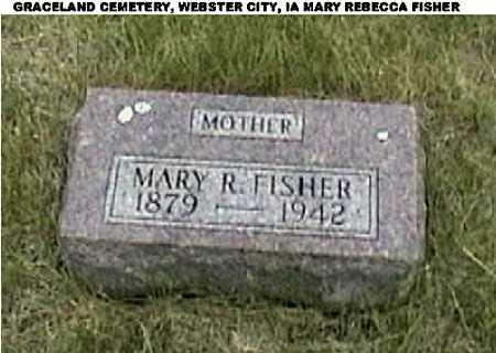 SCHWEPPE FISHER, MARY REBECCA - Hamilton County, Iowa | MARY REBECCA SCHWEPPE FISHER