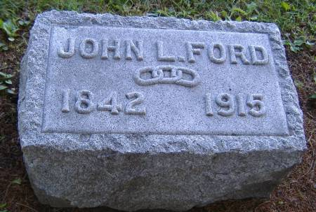 FORD, JOHN L. - Hamilton County, Iowa | JOHN L. FORD