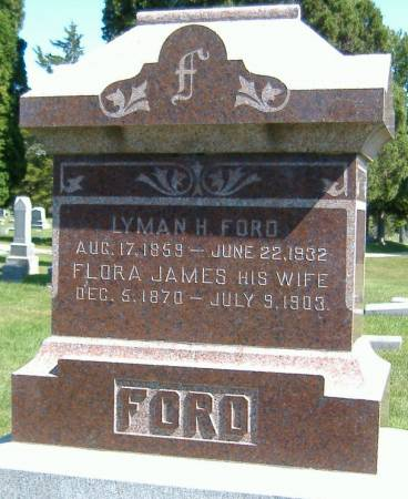 JAMES FORD, FLORA - Hamilton County, Iowa | FLORA JAMES FORD