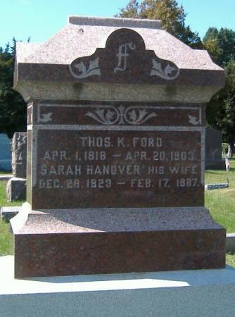 HANOVER FORD, SARAH - Hamilton County, Iowa | SARAH HANOVER FORD