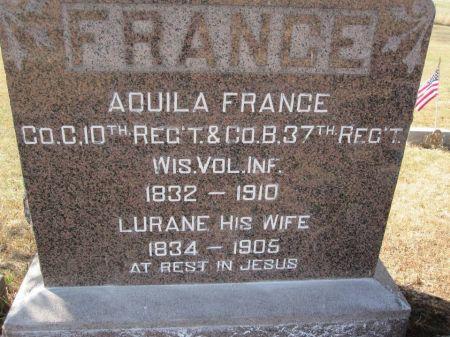 FRANCE, AQUILA - Hamilton County, Iowa   AQUILA FRANCE