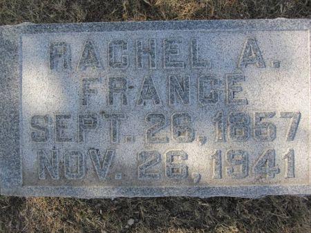 FRANCE, RACHEL A. - Hamilton County, Iowa   RACHEL A. FRANCE
