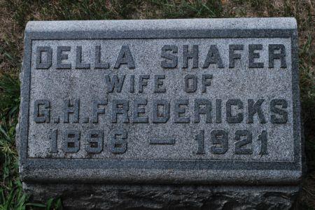 FREDERICKS, DELLA SHAFER - Hamilton County, Iowa | DELLA SHAFER FREDERICKS