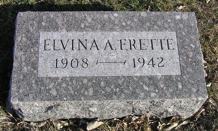 FRETTE, ELVINA A. - Hamilton County, Iowa | ELVINA A. FRETTE