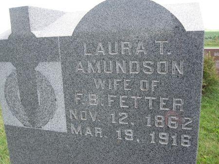 AMUNDSON FETTER, LAURA T. - Hamilton County, Iowa   LAURA T. AMUNDSON FETTER