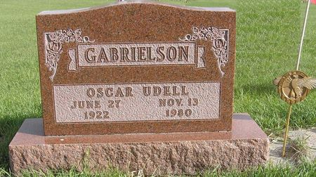 GABRIELSON, OSCAR UDELL - Hamilton County, Iowa | OSCAR UDELL GABRIELSON