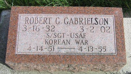 GABRIELSON, ROBERT G. - Hamilton County, Iowa   ROBERT G. GABRIELSON