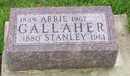 GALLAHER, ARRIE - Hamilton County, Iowa   ARRIE GALLAHER